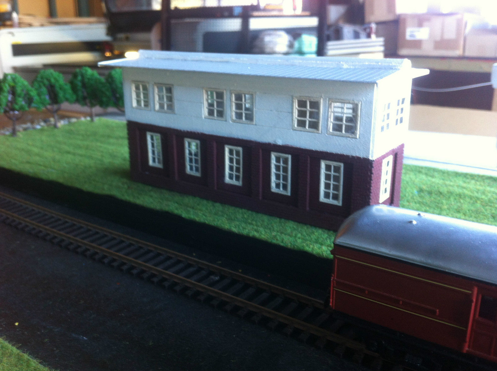 HO scale building kit Darling Habour signal house